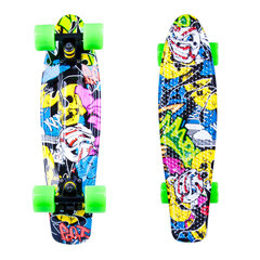 Скейтборд Penny board WORKER Colory 22""