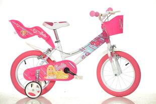 """Tüdrukute Barbie jalgratas 14"""""""