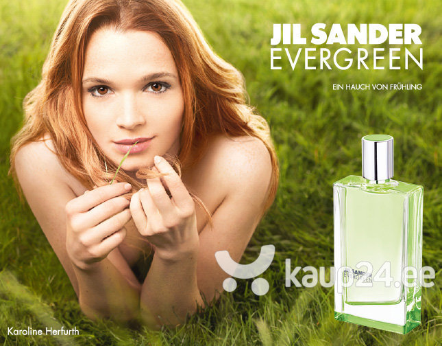 Tualettvesi Jil Sander Evergreen EDT naistele 50 ml
