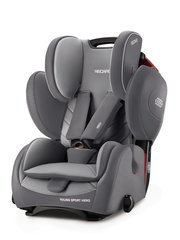 Автокресло Recaro Young Sport Hero,  Aluminium Grey