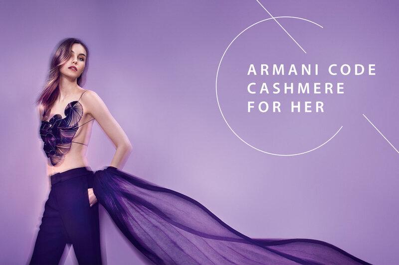 Parfüümvesi Giorgio Armani Code Cashmere EDP naistele 75 ml