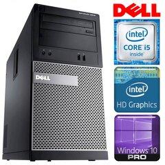 DELL 3010 MT i5-3470 4GB 250GB DVD WIN10PRO/W7P [refurbished] hind ja info   Lauaarvutid   kaup24.ee