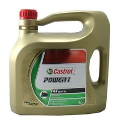 Mootoriõli Castrol Power 1 4T 10W40, 4L