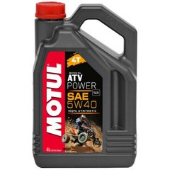 Õli MOTUL ATV POWER 4T 5W40, 4L