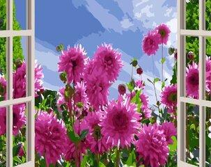 Maalimise komplekt Loodust aknast GX3820