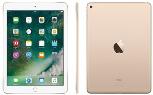 "Apple iPad 9.7"" WiFi + 4G (128GB), Kuldne, MPG52HC/A"