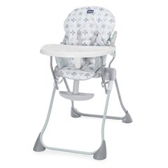 Söögitool Chicco Pocket Meal, Light Grey