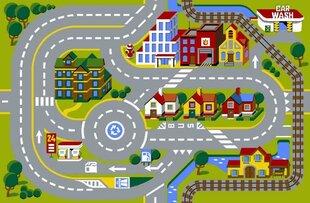 Laste vaip CITY, 80x120 cm hind ja info | Uksematid | kaup24.ee