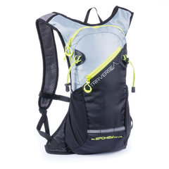 Spordiseljakott Spokey Traverse 7L, hall/must