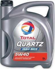 Mootoriõli TOTAL Quartz INEO MC 3 5W-40, 5L