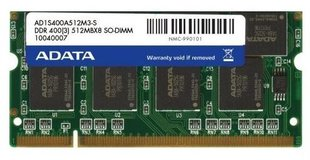 A-Data 512MB 400MHz DDR CL3 AD1S400A512M3-S