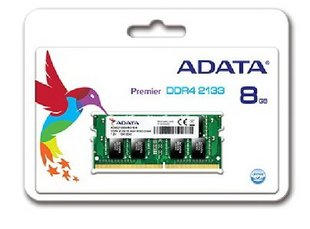 A-Data 8GB 2133MHz DDR4 CL15 SODIMM AD4S213338G15-R