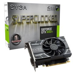 EVGA GeForce GTX 1050 Ti SC Gaming 4GB GDDR5 PCIE 04G-P4-6253-KR