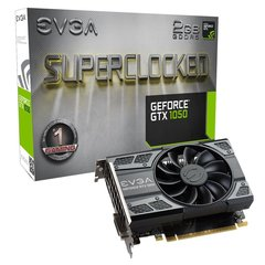 EVGA GeForce GTX 1050 SC Gaming 2GB GDDR5 PCIE 02G-P4-6152-KR