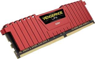 Operatiivmälu Corsair Vengeance LPX 8GB 2400MHz DDR4 CL14 CMK8GX4M1A2400C14R   hind ja info   Operatiivmälu (RAM)   kaup24.ee