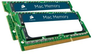 Operatiivmälu Corsair Mac Memory 16GB DDR3 CL9 SO-DIMM KIT OF 2 CMSA16GX3M2A1333C9