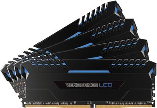 Corsair Vengeance BLUE LED 32GB 3000MHz CL15 DDR4 KIT OF 4 CMU32GX4M4C3000C15B