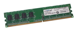 Crucial 1GB DDR2 PC2-6400 CL6 CT12864AA800 hind ja info | Crucial 1GB DDR2 PC2-6400 CL6 CT12864AA800 | kaup24.ee