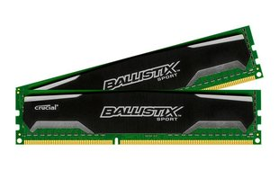 Crucial Ballistix Sport 8GB 1600MHz DDR3 CL9 KIT OF 2 BLS2C4G3D169DS1J