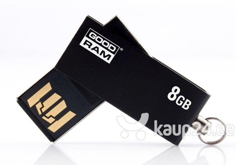 Mälupulk Goodram UCU2 8GB 2.0, Must