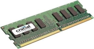 Operatiivmälu Crucial 2GB DDR2 PC2-6400 CL6 CT25664AA800