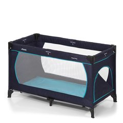 Reisivoodi Hauck Dream N Play Plus Navy/Aqua 603666