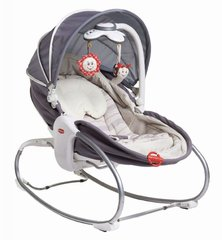 Детское кресло- качалка Tiny Love Napper 3in1, grey