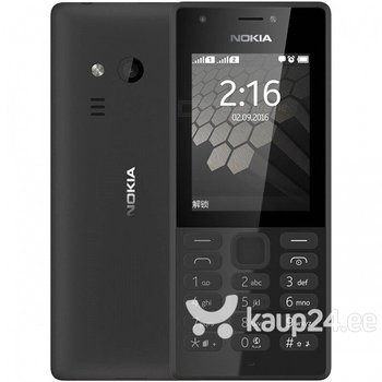 Nokia 216 DS, LT, LV, EE, Must