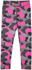 Tüdrukute retuusid 4F JLEG100, roosa/hall/must