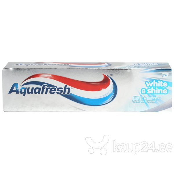 Valgendav hambapasta Aquafresh White & Shine 75 ml