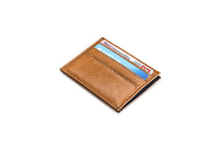 Meeste rahakott Solier SA13, helepruun