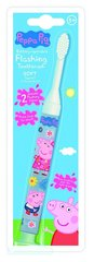 Laste hambahari Peppa Pig Flashing Soft 3+