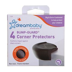 Topelt nurgakaitsmed Dreambaby® Bump-Guard®, 4 tk, brown