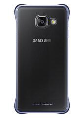 Kaitseümbris Clear cover Samsung Galaxy A3 (2016) A310, Must