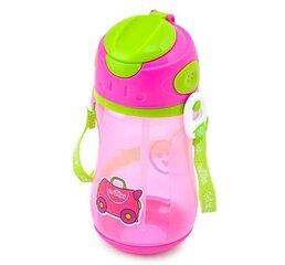 Kõrrega pudel Trunki Trixie, pink hind ja info | Lutipudelid ja aksessuaarid | kaup24.ee