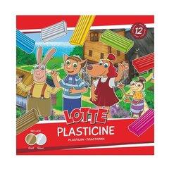 Plastiliin Lotte 12 värvi