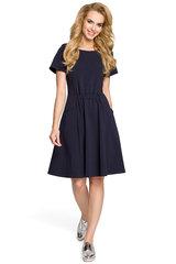 Naiste kleit MOE M316, tumesinine