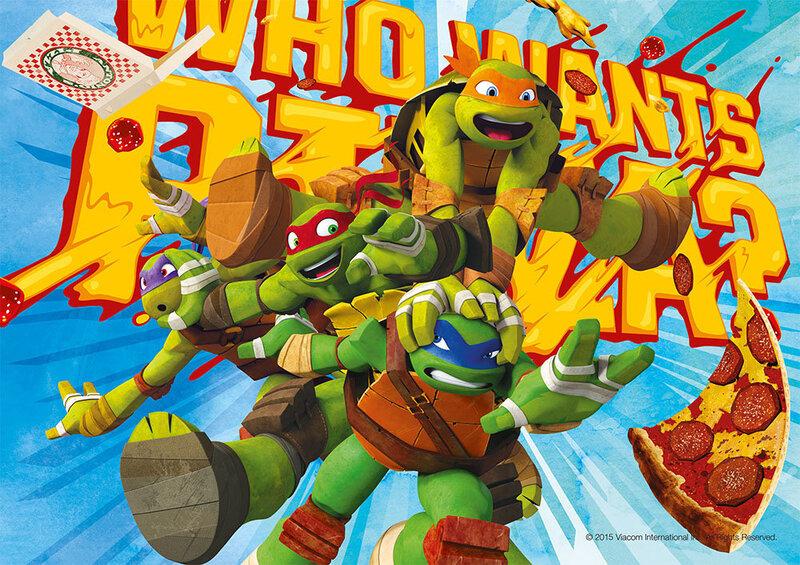 Pusle Step Puzzle 104, Nijna Turtles hind