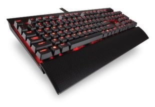 Klaviatuur Corsair Mechanical Gaming Keyboard K70 LUX - Red LED - Cherry MX Brown (NA)