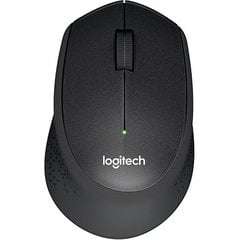 LOGITECH M330 Silent Plus Black - 2.4GHZ - EMEA - Business - B2B