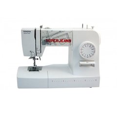Toyota Sewing machine SUPERJ15W White, Number of stitches 15, Number of buttonholes 4, Automatic threading