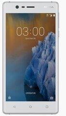 Mobiiltelefon Nokia 3 Dual SIM, Valge