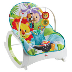 Lamamistool-iste Fisher Price Infant to Toddler Rocker, blue