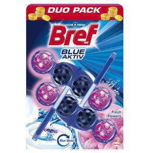 WC-poti värskendaja BREF Blue Aktiv Fresh Flowers, 2x50 g