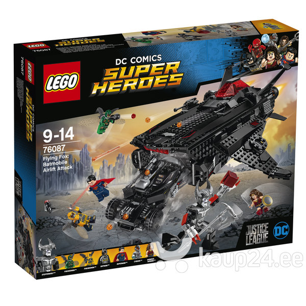 76087 LEGO® SUPER HEROES Flying Fox: Batmobile'i õhurünnak