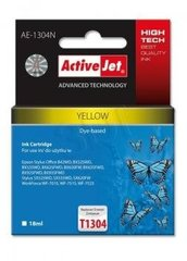 Tint ActiveJet AE-1304N | Yellow | 18 ml | Epson T1304