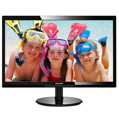 "Philips LCD monitor 24 "", Full HD, 1920 x 1080 pixels, 16:9, LCD, LCD/TFT, 1 ms, 250 cd/m², Black"