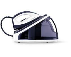 PHILIPS GC7710/20 Pressurised Steam Iron generator, White/Dark blue, 2400W, 2200ml water tank, Continuous steam 120 g/min, steam pressure: 5.5 bar, steam boost 250g, 1.6m cord, Steam Glide Ceramic soleplate