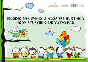 Akvarelliplokk A3, 20 lehte