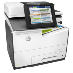 HP PageWide Enterprise Color MFP 586dn A4 55 ppm Duplex ADF print from USB